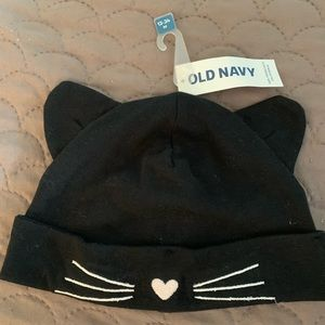 Baby girl kitty hat